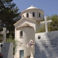 Lemesos Agios Georgios Alamanou Koimitirio Monis, Cyprus