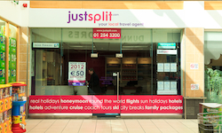 Justsplit.com - your local travel agent in Kilnamanagh Shopping Centre, Dublin 24