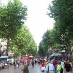 Les Rambles (The Avenues), Barcelona