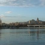 Malaga harbour, Spain