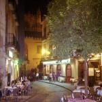 Seville at night