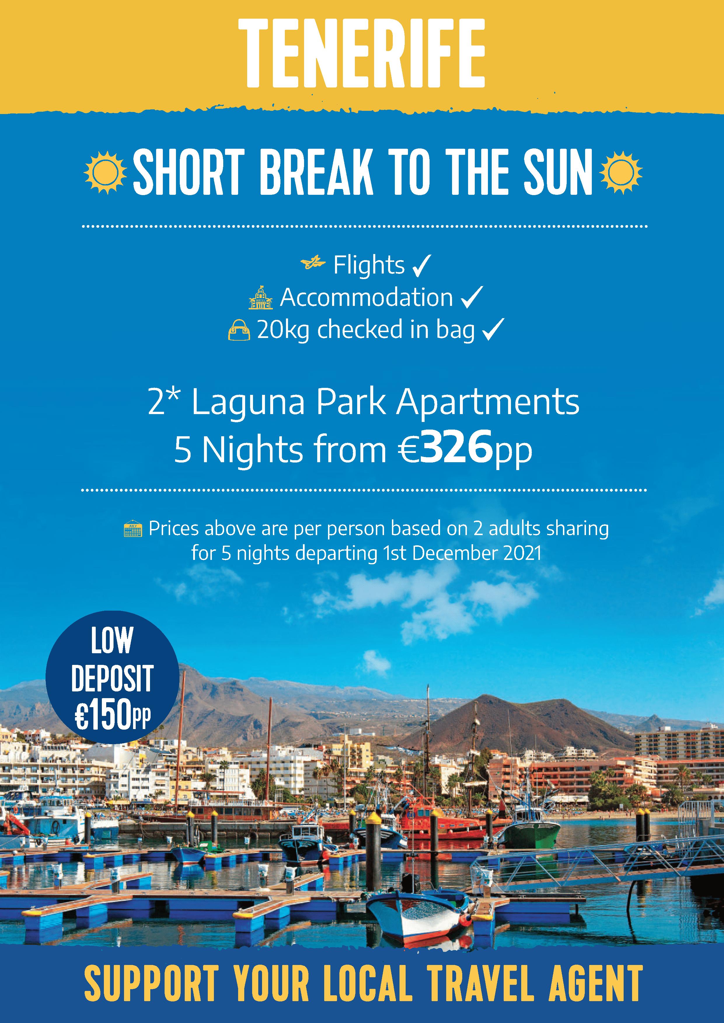 Tenerife Short Breaks Offer