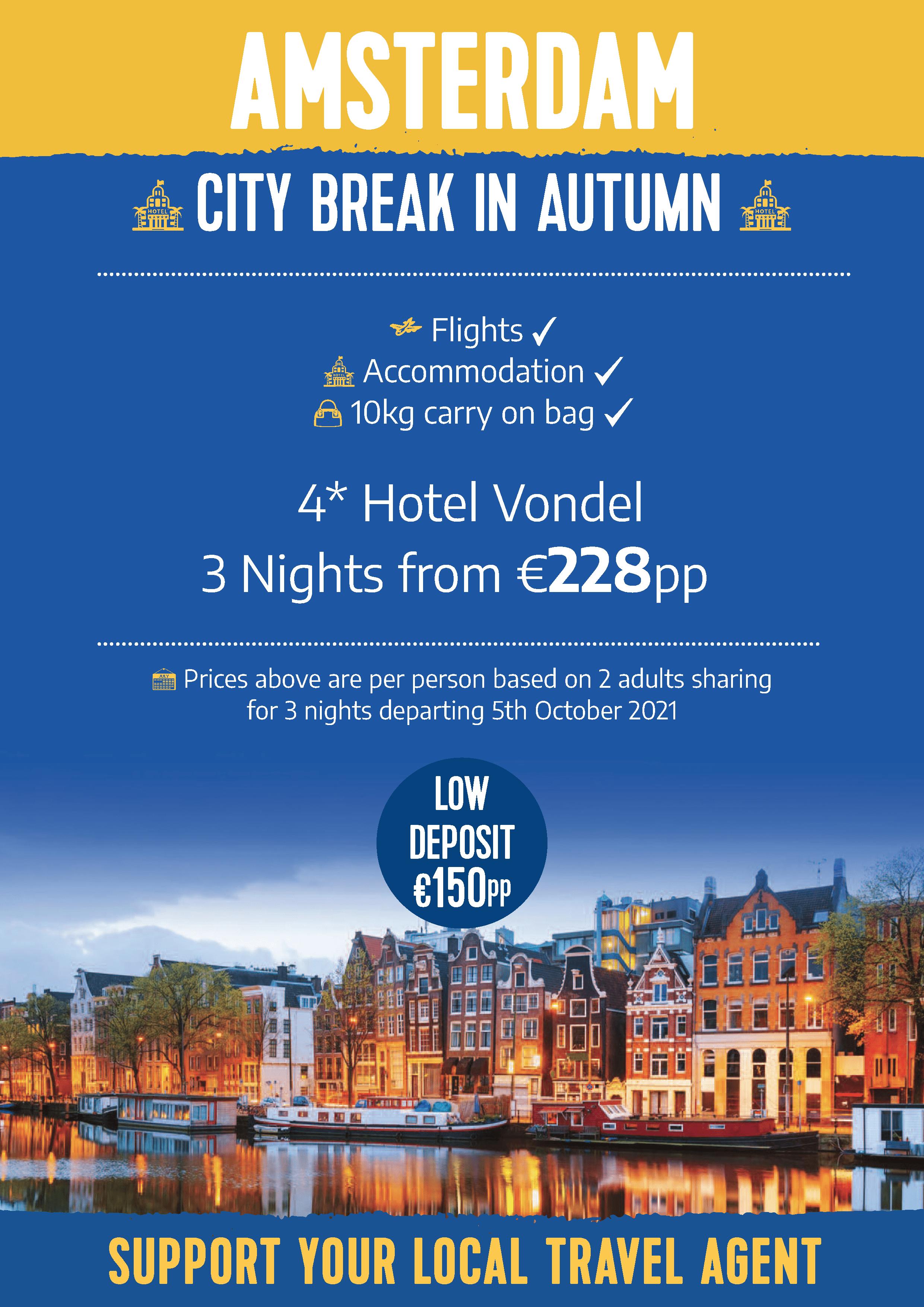 Amsterdam Autumn City Break